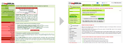 Relaunch imgbox.de