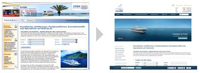 Relaunch sailtrek.de